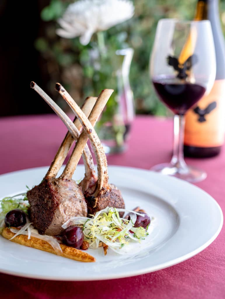 Wise-Villa-Winery-Rack-of-Lamb-with-Wine-1